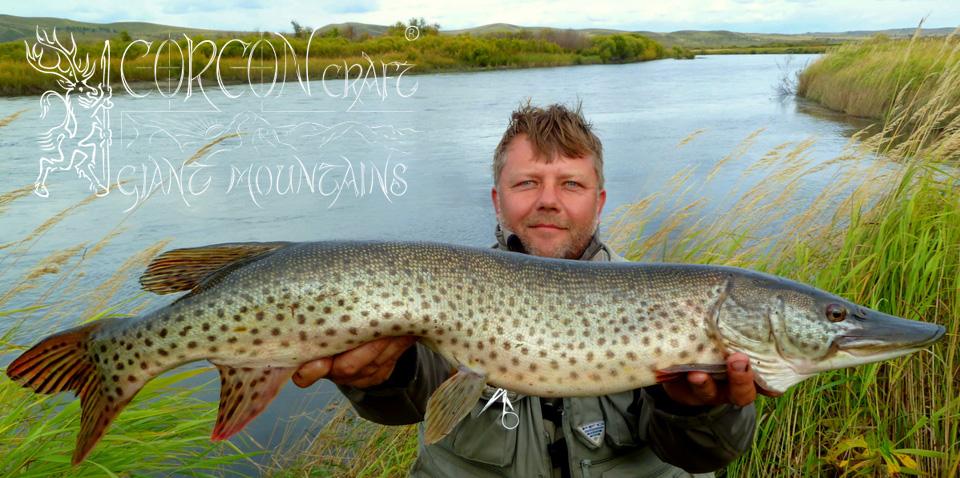 рыбалка на реке селенга
