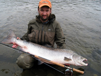 Fly fishing for Atlantic Salmon and Sea Trout