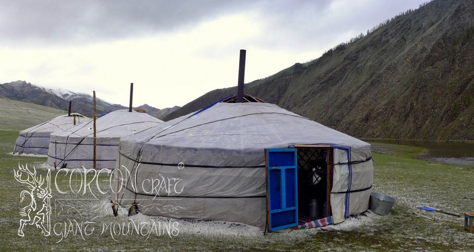 Camps in Mongolia