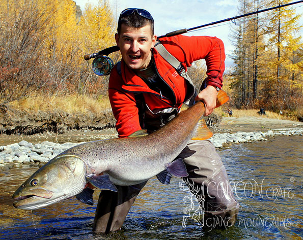 Specialized Taimen Fishing Camps in Mongolia