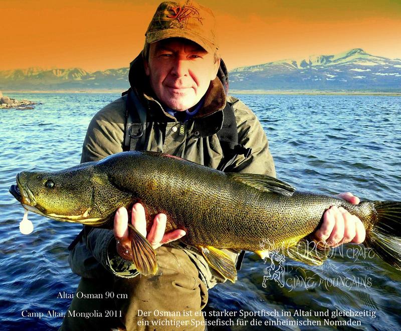 рыбалка ленок монголия